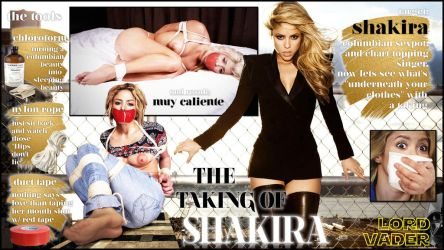 THE TAKING OF Shakira by lordvadersempire