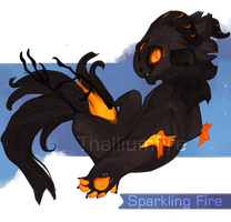 Sparkling Fire by NebNomMothership