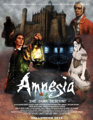 Amnesia the dark descent concept movie poster by angelbaby88