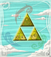 Holders of the Triforce by Icy-Snowflakes