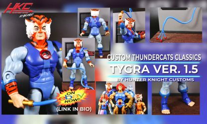 Custom Tygra Thundercats Classics Action Figure by hunterknightcustoms