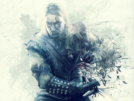 Geralt of Rivia by Take-The-Black