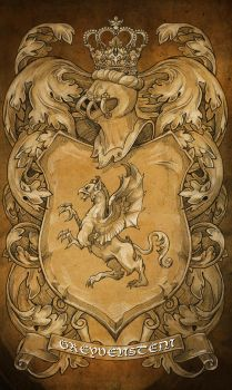 My Family crest - my version by bobgreyvenstein