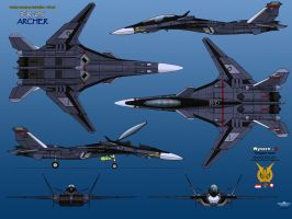 IFX-25 Archer (Prototype) by haryopanji