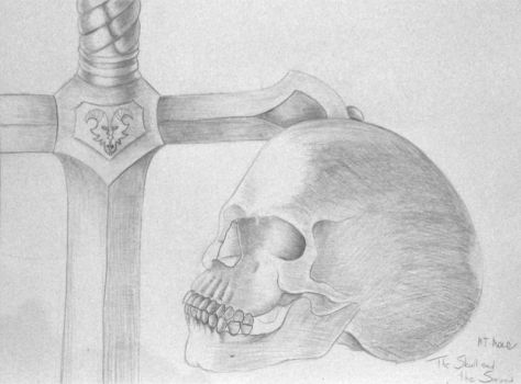 The skull and the sword by Eladie