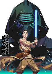 Star Wars: The Force Awakens by kevinTUT