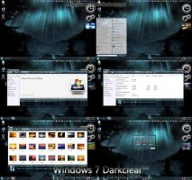 Windows 7 Darkclear by caeszer