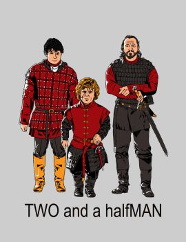 TWO and a halfMAN by DreamBig20761