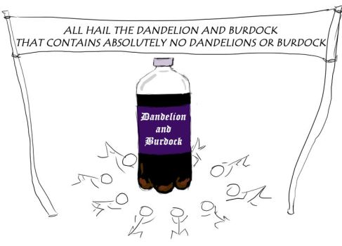 All Hail Dandelion and Burdock by Xilmin