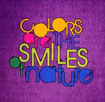 colors are smiles by najmo