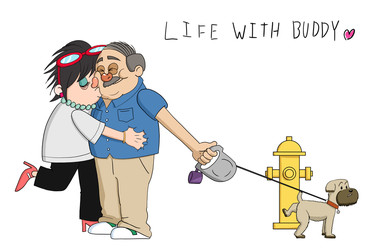 life with buddy by studiodenny