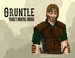 Gruntle: Trake's Mortal Sword by YapAttack