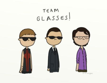 .Team Glasses!. by bababug