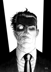Two Face by JoseRealArt