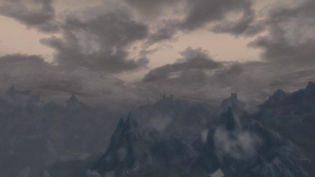 Skyrim Landscape/Need new title by theAmnesiaofDarkness