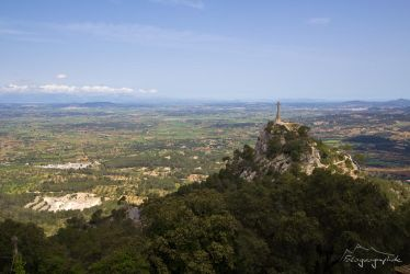 View over Mallorca by Sockrattes