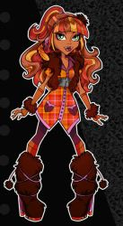 Sassy Squatch- Monster High by zirofax