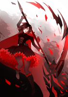 Ruby Rose - RWBY by ErosPanda