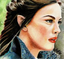 Arwen Redone 5 Years Later (2010) by riansart