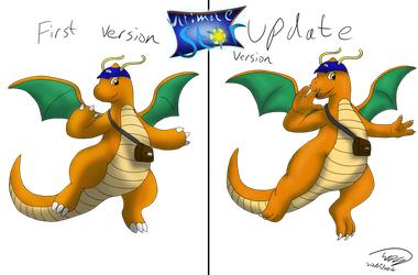 New or Old of Alex the Sub-Dragonite by Threehorn