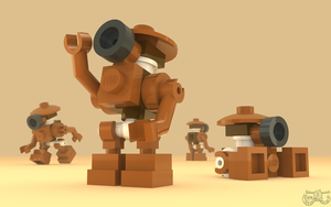 LEGO Star War - Pit Droid by Concore