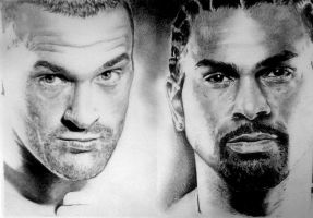 David Haye vs Tyson Fury by Ray-Clark