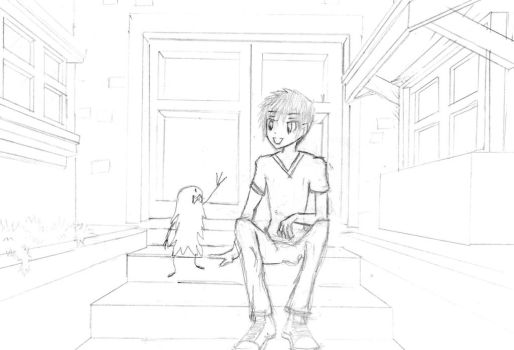 Perspective and Background Practice by darkuser78