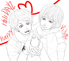 Happy Holidays WIP by iSae-kun
