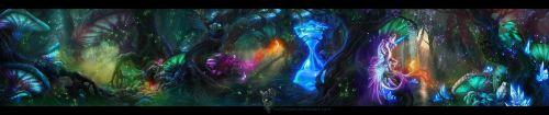 Wood of Wonders - Environment Concept - Wide View by IosifChezan