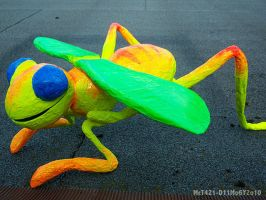 Neon Bug by mct421