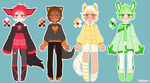 [OPEN] Colormimi's Adopt Batch 1# by Pffycat