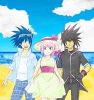 Summertime- Sonic, Amy, Shadow by ihearrrtme