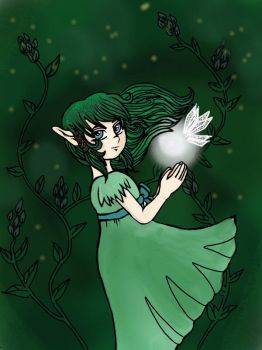 Milara the Evergreen by lilith-chan