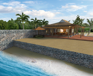 Proposed Beach Resort Clubhouse by Gline01