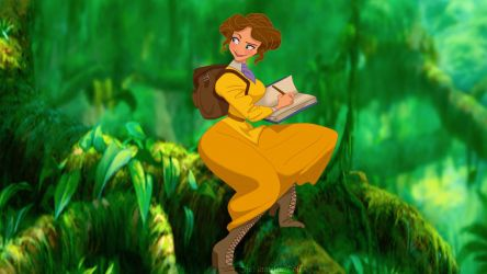 Early Concept: Jane Porter by TheNamelessDoll