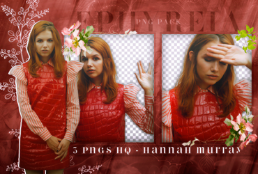 Png Pack #40 - Hannah Murray by ephyreia