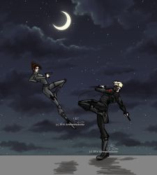 Kells' Agent Stevens vs. the Winter Soldier by UchinanchuDuckie