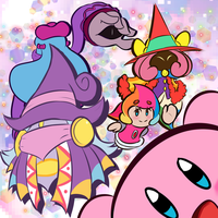 Kirby and the Arts by TwistedTrevas