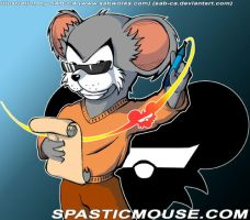 Commish: The Spasticmouse by SAB-CA