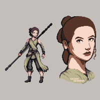 Rey is Bae Sprite by ShinySeabass