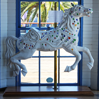 Carousel Horse by Just-A-Little-Knotty