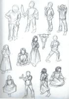 Brother-Sister-Sketches1 by AlexandriaMonik
