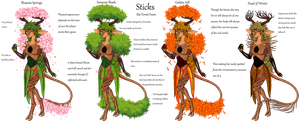 .:Forest Totem:. by XenomorphicDragon
