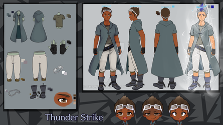 Thunder Strike Reference Sheet :Request: by shawn1013