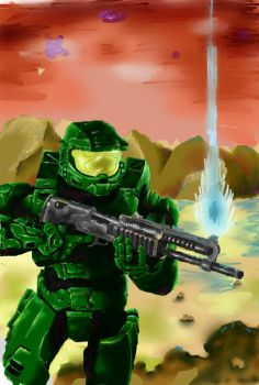The Master chief is in Trouble, or Is He? by br0an11