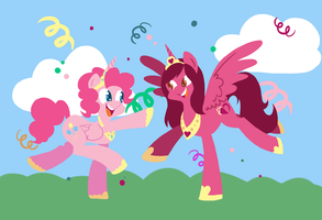 Alicorn Party! by FrogAndCog