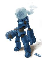 Robot Master Iceman by CLE2
