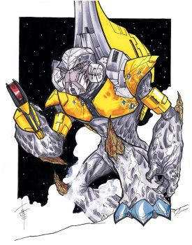 HALO Grunt by Hodges-Art