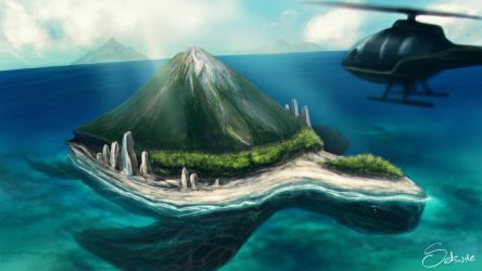 Lost Island by satsume-shi