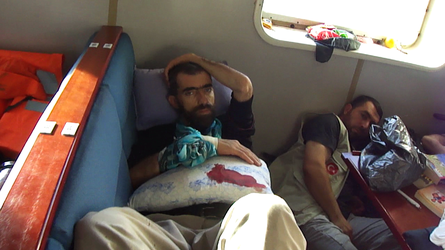 Flotilla wounded aid volunteer by ademmm